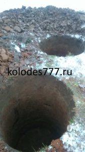 Септик из бетонных колец в Медынском районе