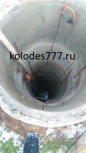Углубление колодцев в Зубцовском районе