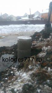 Установка септика в Подольском районе