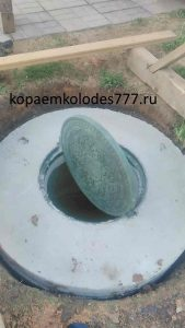 Септик из колец в Боровском районе