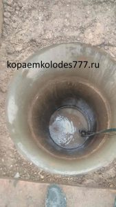 Углубление колодцев в Лотошинском районе