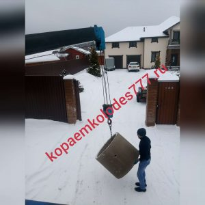 Углубление колодцев в Воронцово